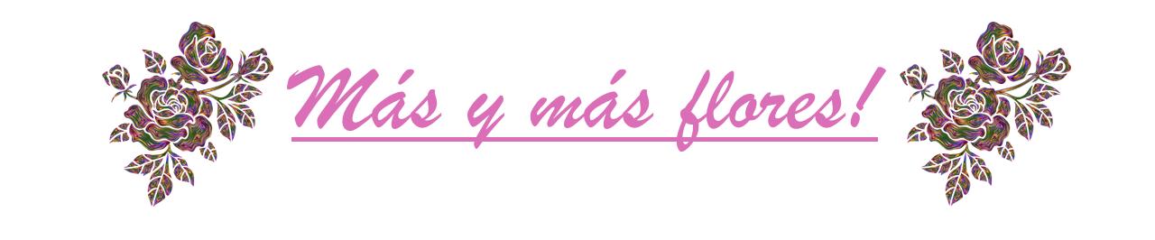 Logo-Mas y mas flores!